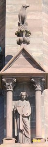 L'« adolescent » - Cathédrale de Strasbourg