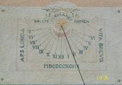 Cadran solaire Ajaccio - Corse